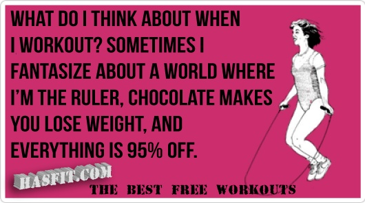 what you think about working out