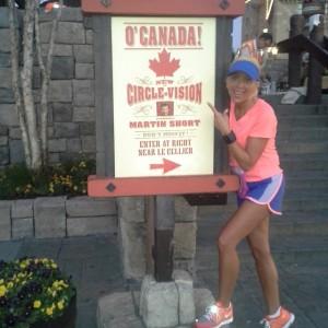 epcot princess canada